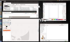 Aplikacje na pulpicie Ubuntu